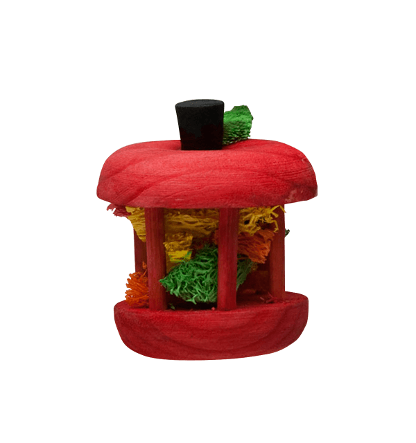 Kaytee Carousel Apple Small Animal Toy, Small