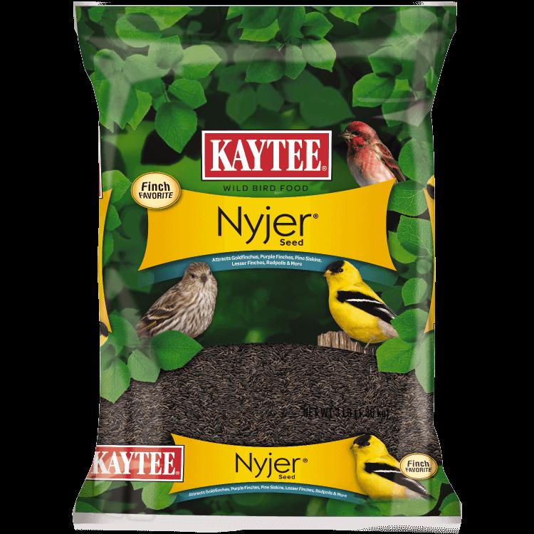 Kaytee Nyjer Seed Wild Bird Food, 3-lb