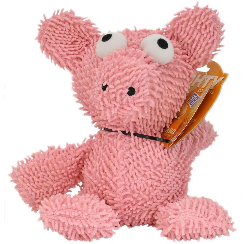 Tuffy's Mighty Microfiber Ball Pig Dog Toy
