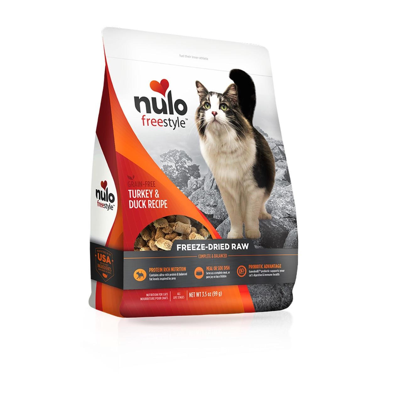 Nulo Freestyle Turkey & Duck Freeze-Dried Raw Cat Food Image
