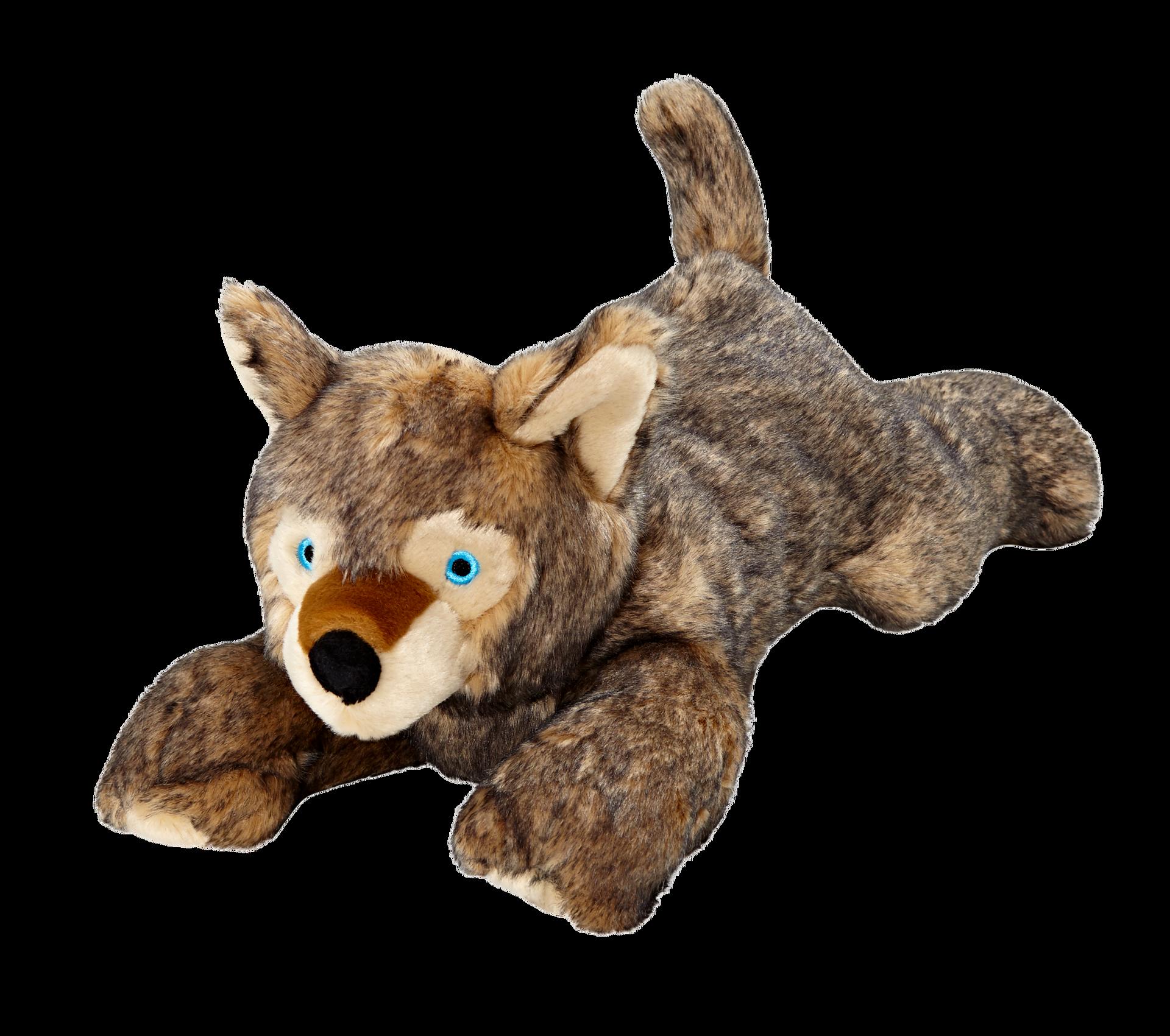 Fluff & Tuff Lobo Wolf Pup Dog Toy, X-Large