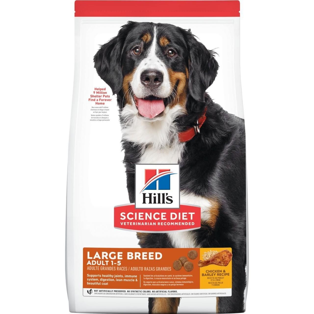 Hill's Science Diet Adult Large Breed Dry Dog Food, 35-lb bag