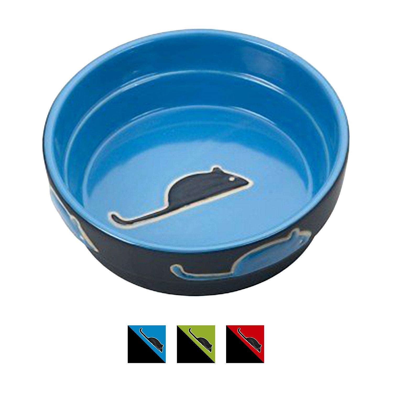 Ethical Pet Fresco Cat Bowl, Blue, 5-in