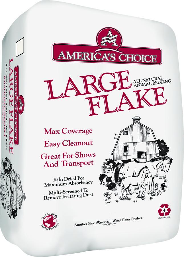 American Wood America's Choice Large Flake Animal Bedding, 2-cu ft