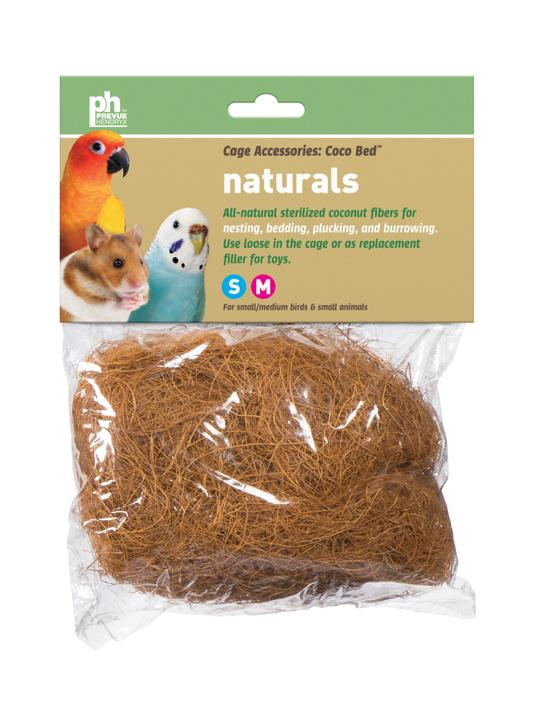 Prevue Pet Products Coco Bed Naturals Bedding for Birds & Small Animals