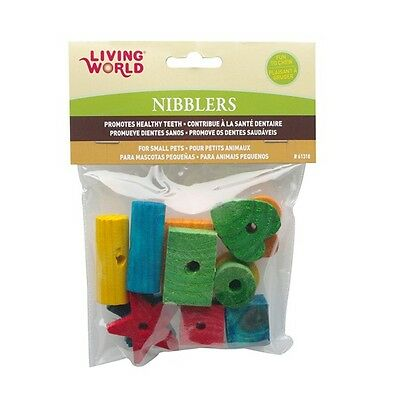 Living World Nibblers Wood Chews Small Animal Toy