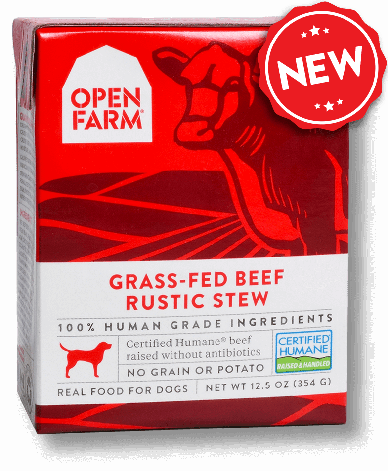 Open Farm Rustic Stew Grass-Fed Beef Recipe Wet Dog Food Image