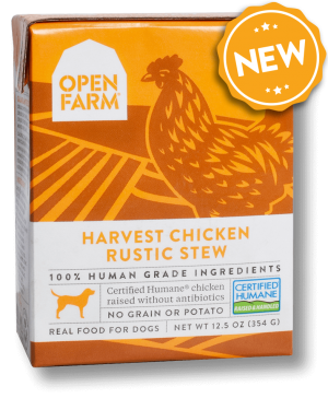 Open Farm Rustic Stew Harvest Chicken Recipe Wet Dog Food Image