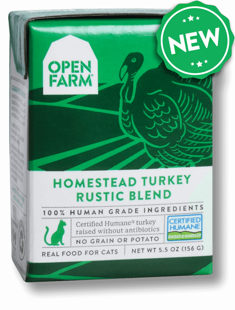 Open Farm Rustic Blend Homestead Turkey Recipe Wet Cat Food, 5.5-oz