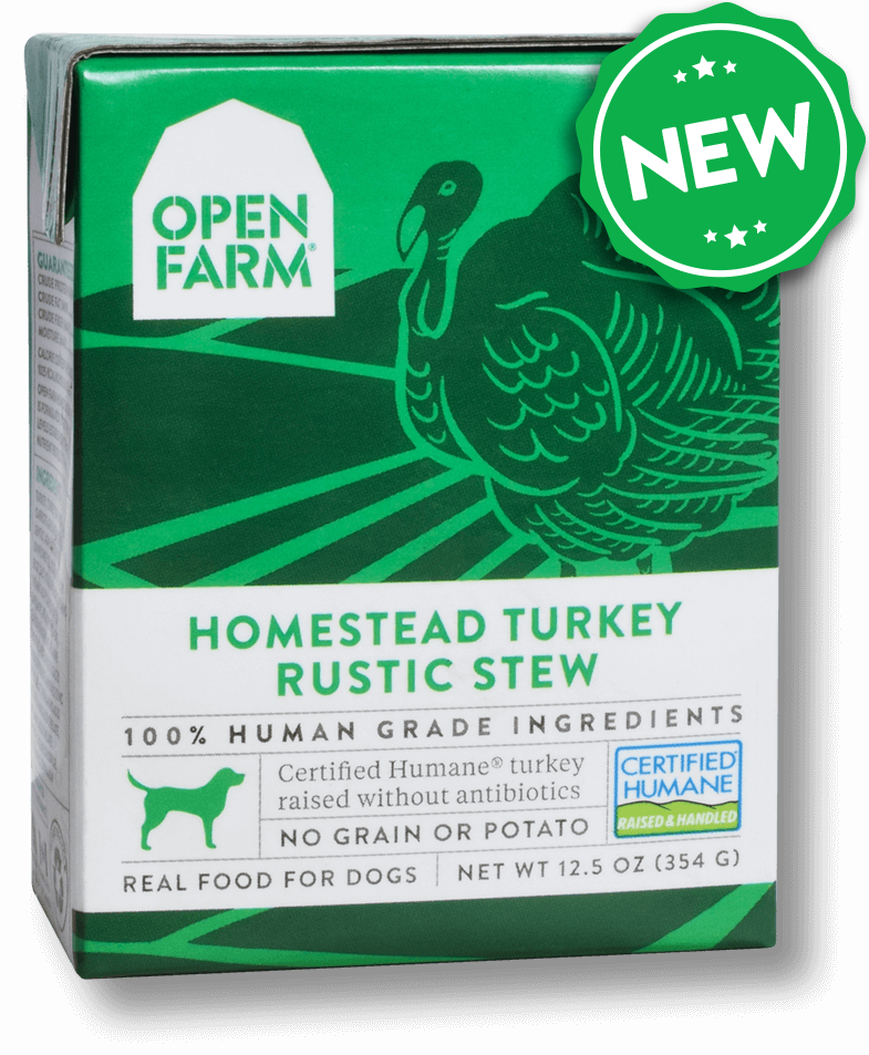 Open Farm Rustic Stew Homestead Turkey Recipe Wet Dog Food, 12.5-oz Size: 12.5-oz