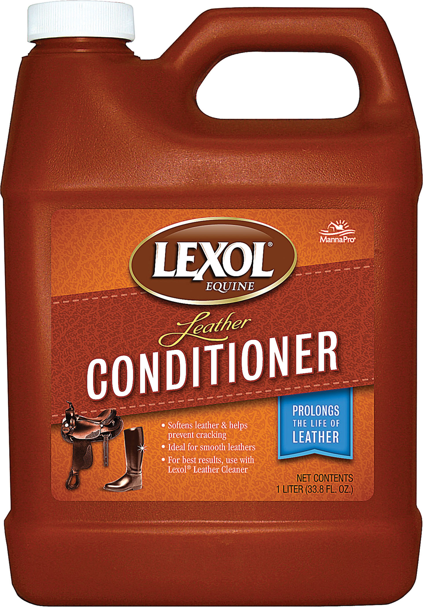 Manna Pro Lexol Leather Conditioner Lexol, 1-L