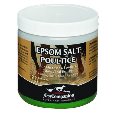 First Companion Epsom Salt Poultice Horse Supplement, 20-oz