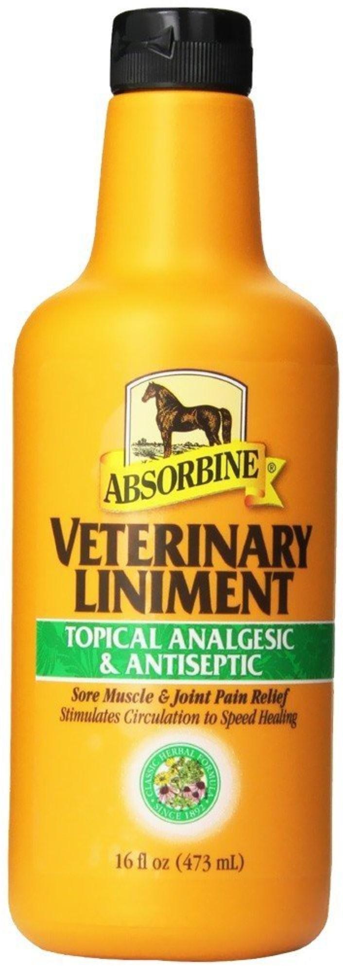 Absorbine Veterinary Horse Liniment, 16-oz