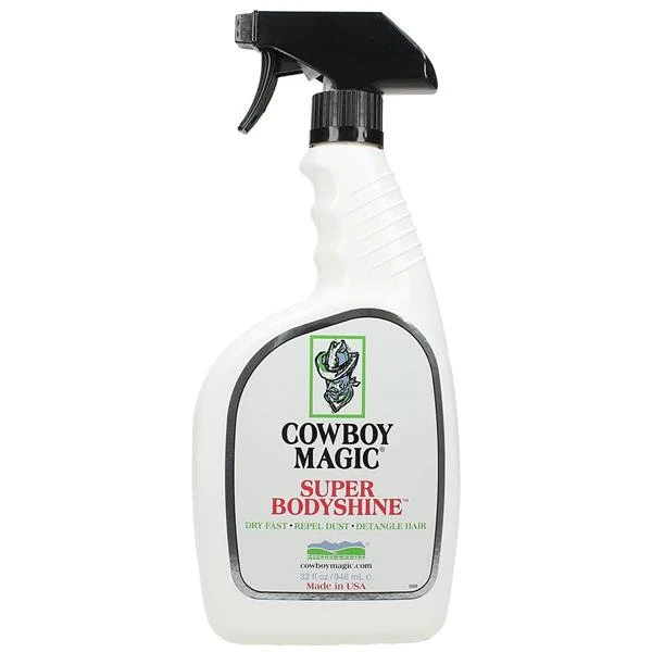 Cowboy Magic Super BodyShine for Horses, 32-oz