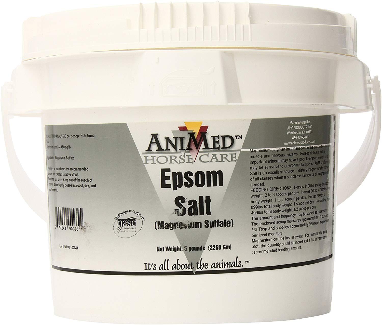 Animed Epsom Salt Horse Supplement, 5-lb