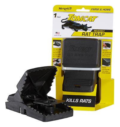 Motomco Tomcat Reusable Rat Snap Trap