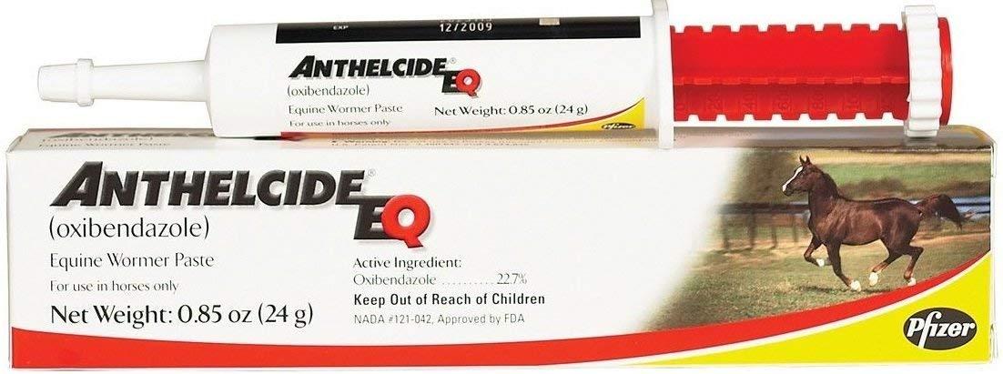 Pfizer Anthelcide EQ Horse Wormer Paste, 0.85-oz