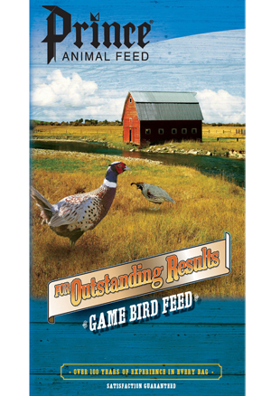 Prince Game Bird Starter Crumble 28% Poultry Feed, 50-lb