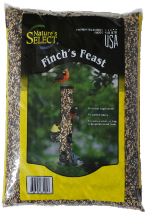 Natures Select Finch's Feast Wild Bird Food, 10-lb