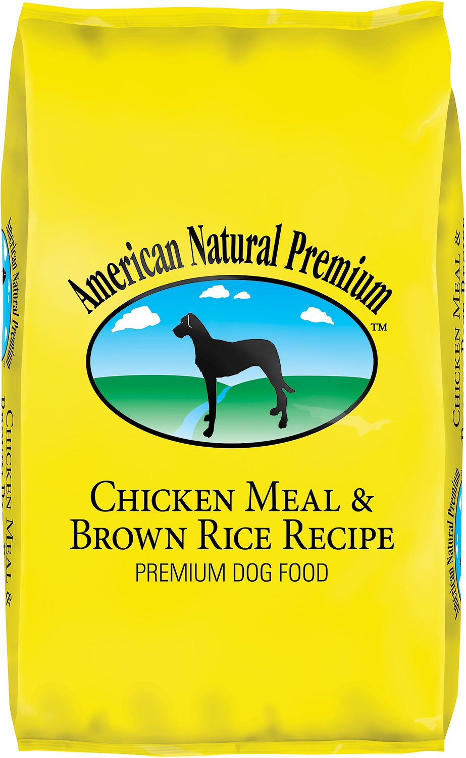 American Natural Premium Chicken Meal & Brown Rice Recipe Dry Dog Food, 33-lb