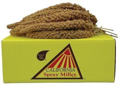 Golden Farm Products California Spray Millet Bird Treats, 5-lb, 5-lb