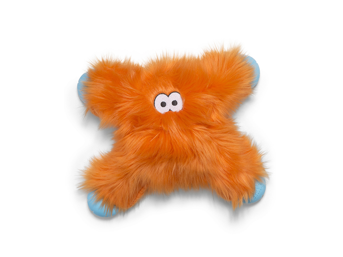 West Paw Lincoln Dog Toy, Orange