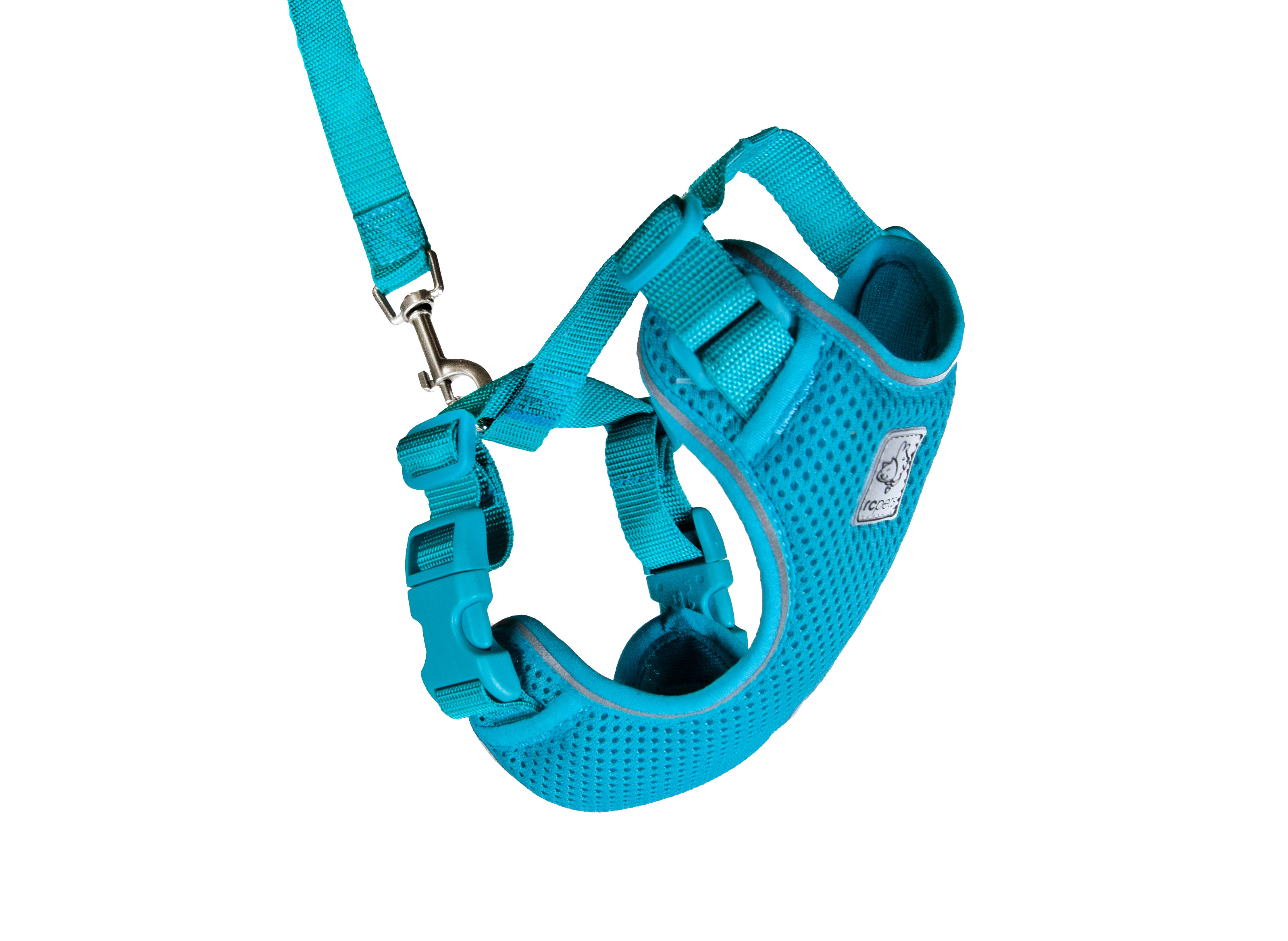 RC Pet Products Adventure Kitty Harness, Teal, Small