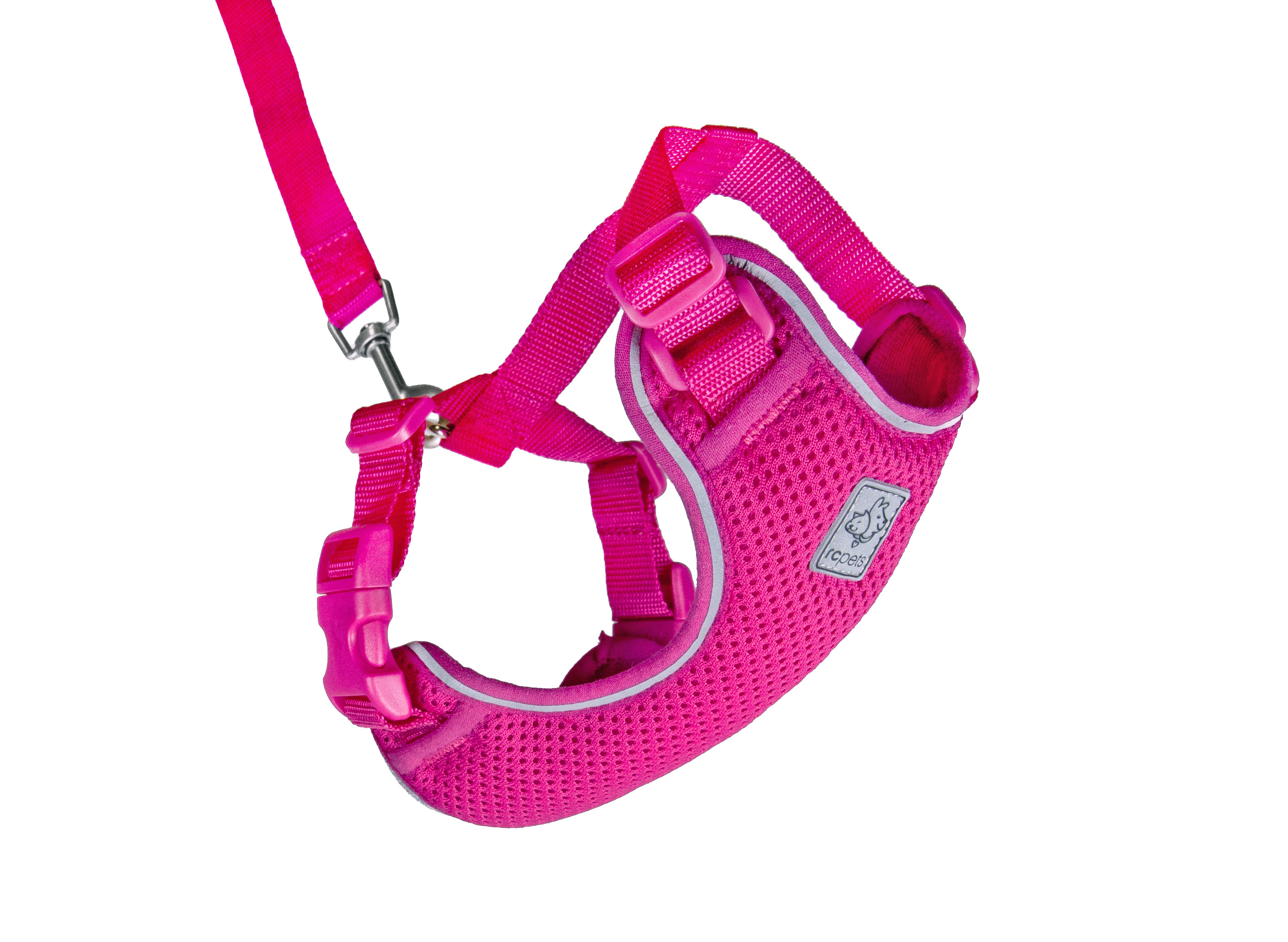 RC Pet Products Adventure Kitty Harness, Raspberry, Large