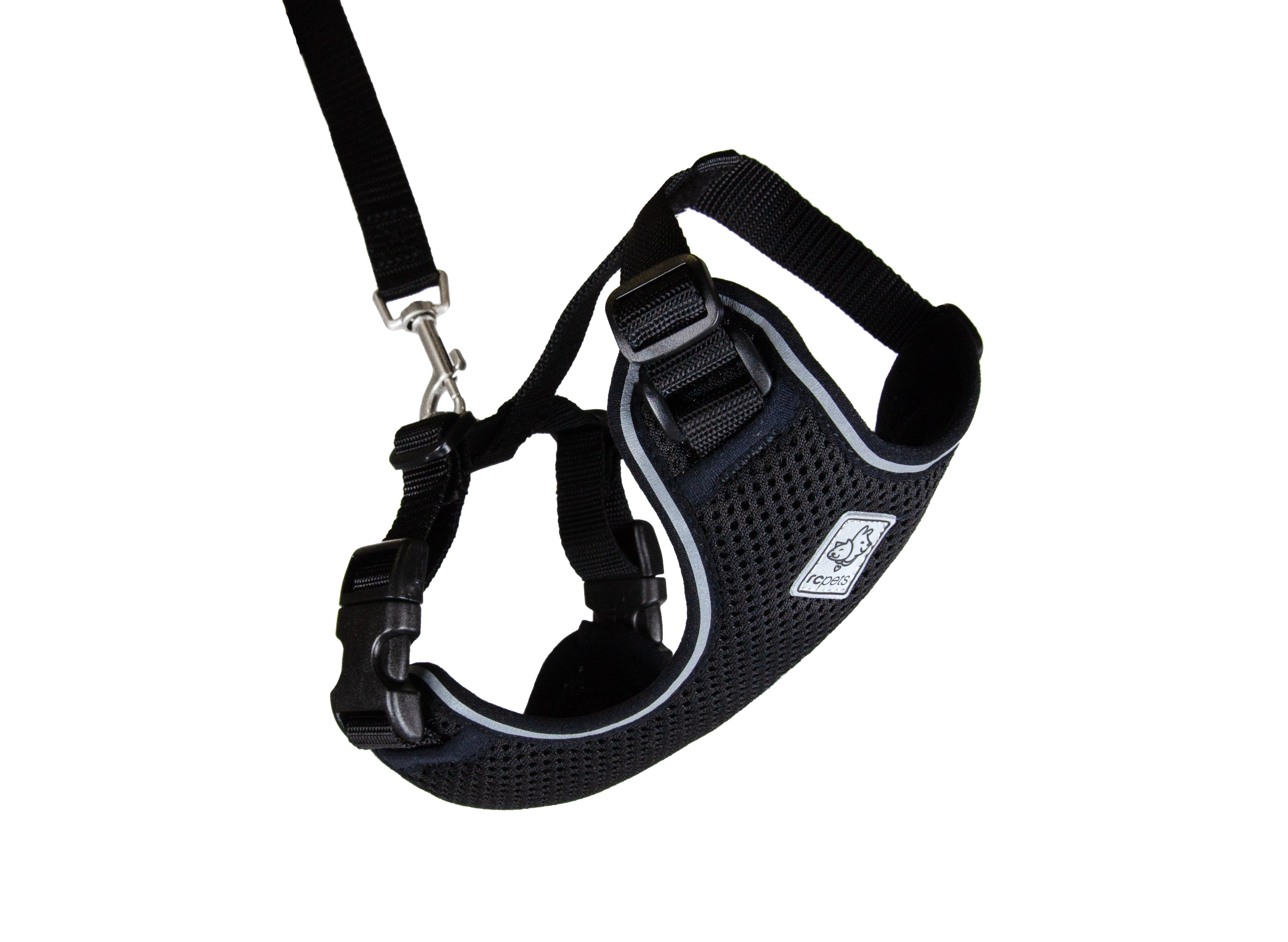 RC Pet Products Adventure Kitty Harness, Black Image