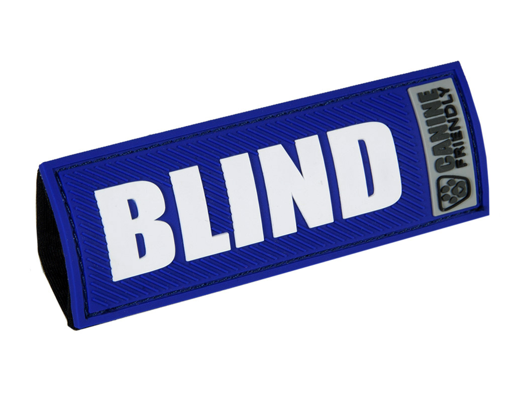 """RC Pet Products """"Blind"""" Bark Notes for Dogs, 1-in"""