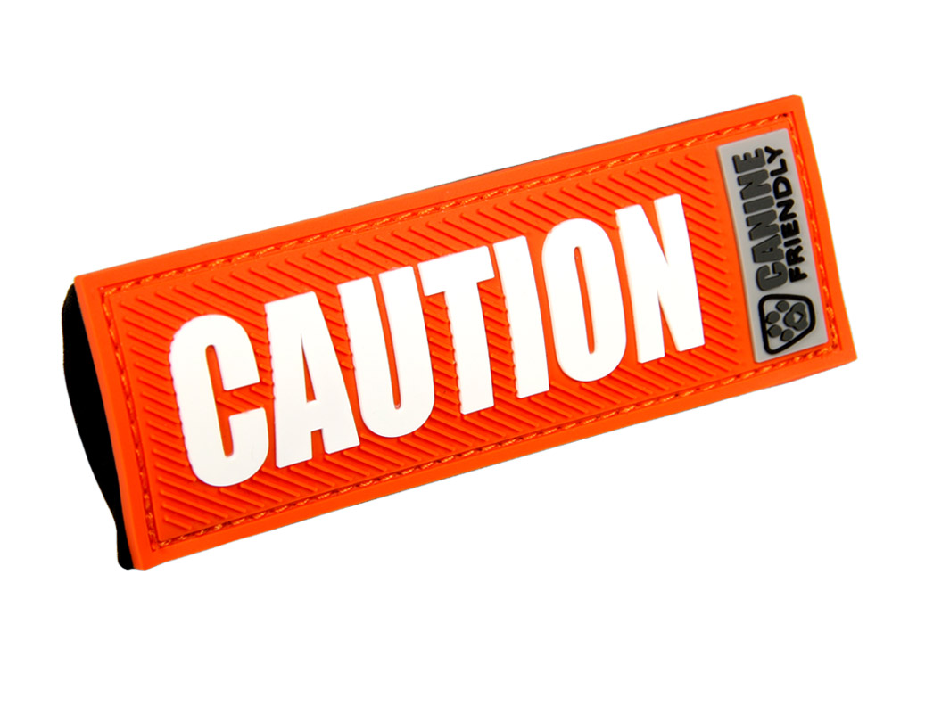 """RC Pet Products """"Caution"""" Bark Notes for Dogs, 1-in"""