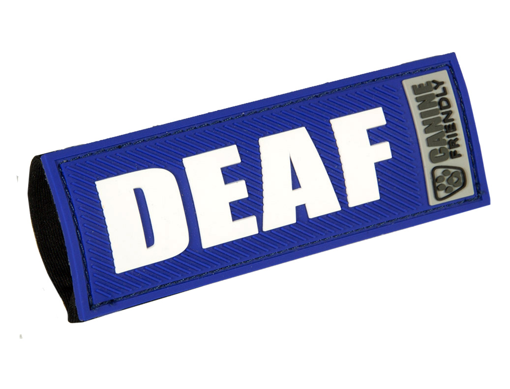 """RC Pet Products """"Deaf"""" Bark Notes for Dogs, 1-in"""