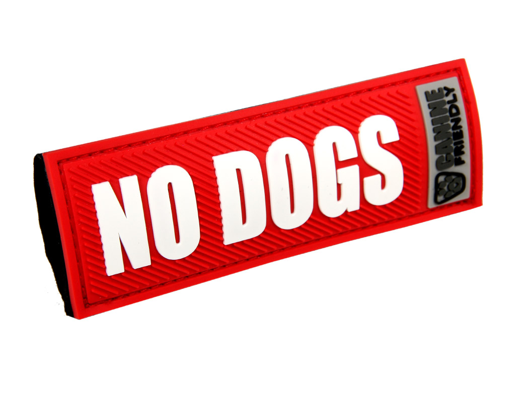 """RC Pet Products """"No Dogs"""" Bark Notes for Dogs, 3/4-in"""