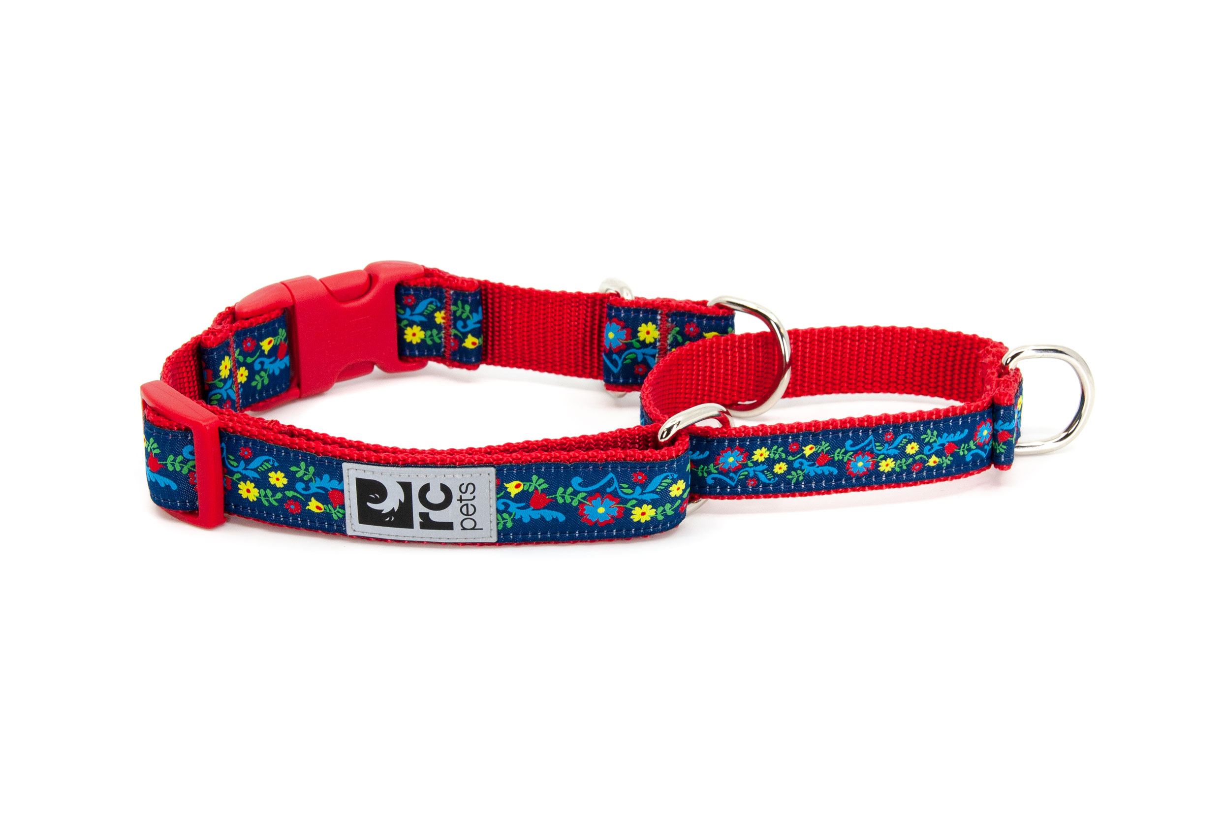 RC Pet Products Clip Web Training Dog Collar, Feeling Folksy, Medium