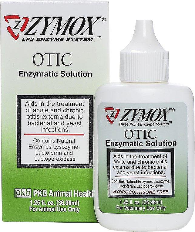 Zymox Otic Pet Ear Treatment without Hydrocortisone Image