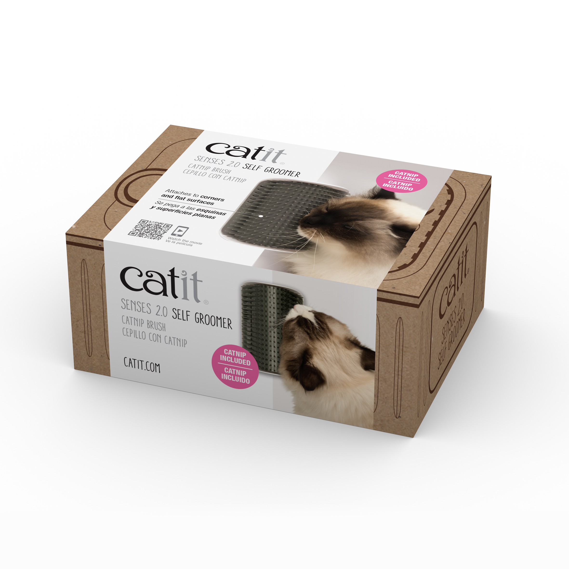 Catit Senses 2.0 Self Groomer for Cats