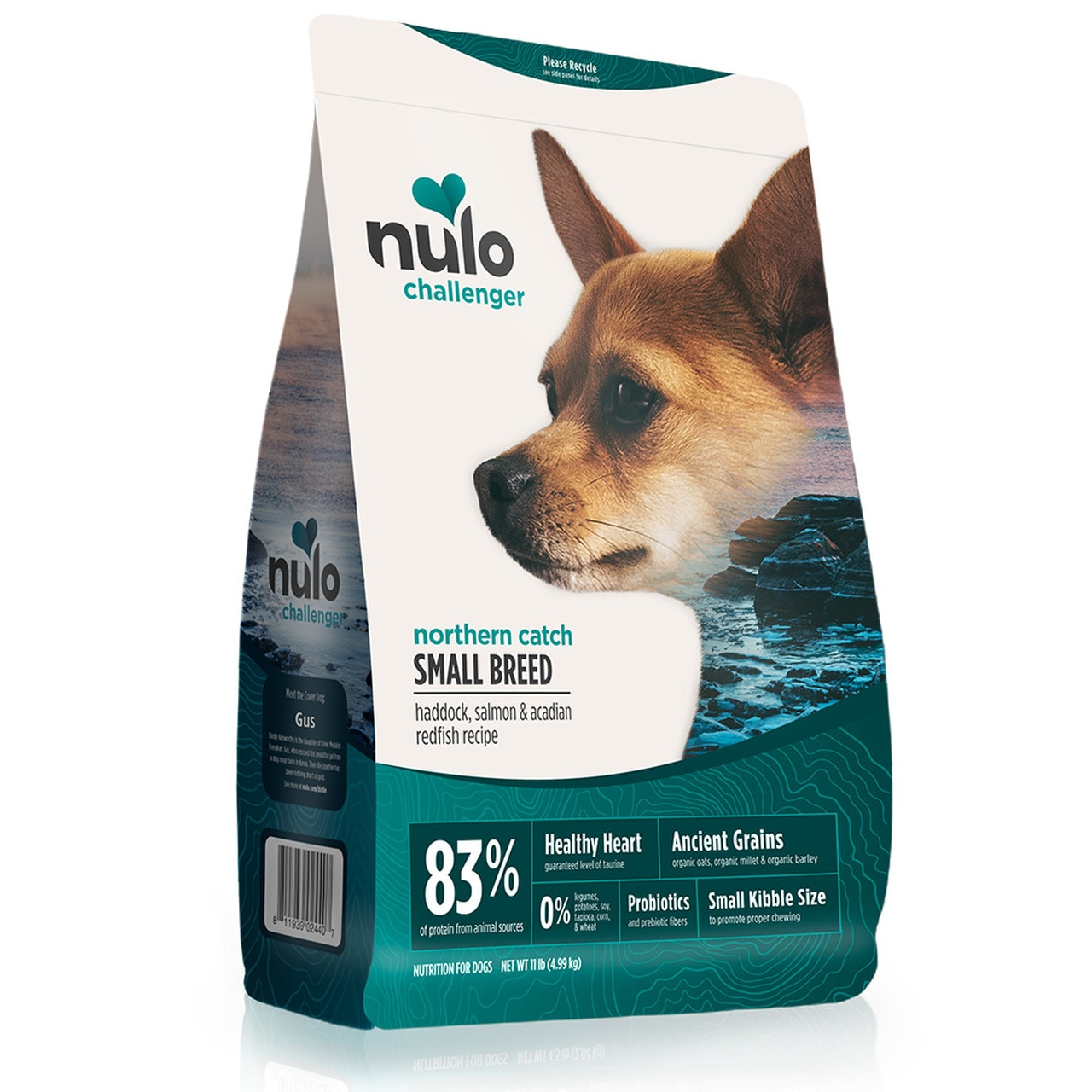 Nulo Challenger Northern Catch Haddok, Salmon & Redfish Small Breed Dry Dog Food, 4.5-lb