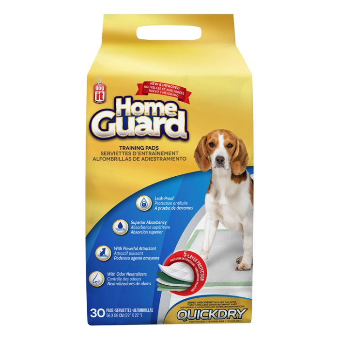 Dogit Home Guard Dog Training Pads, 30-pk