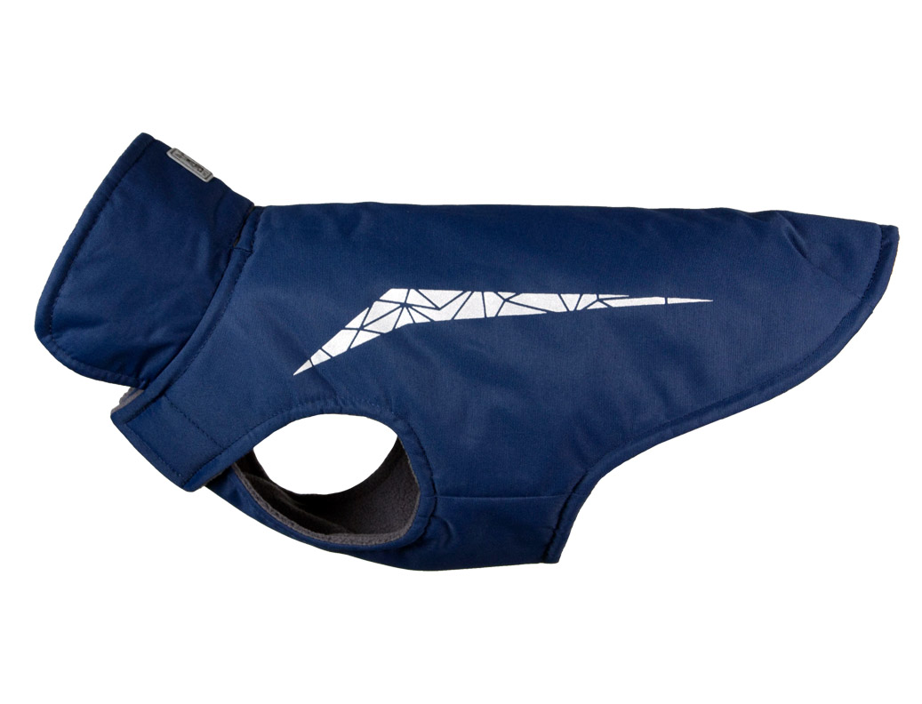 RC Pet Products Cascade Dog Coat, Estate Blue, 10-in
