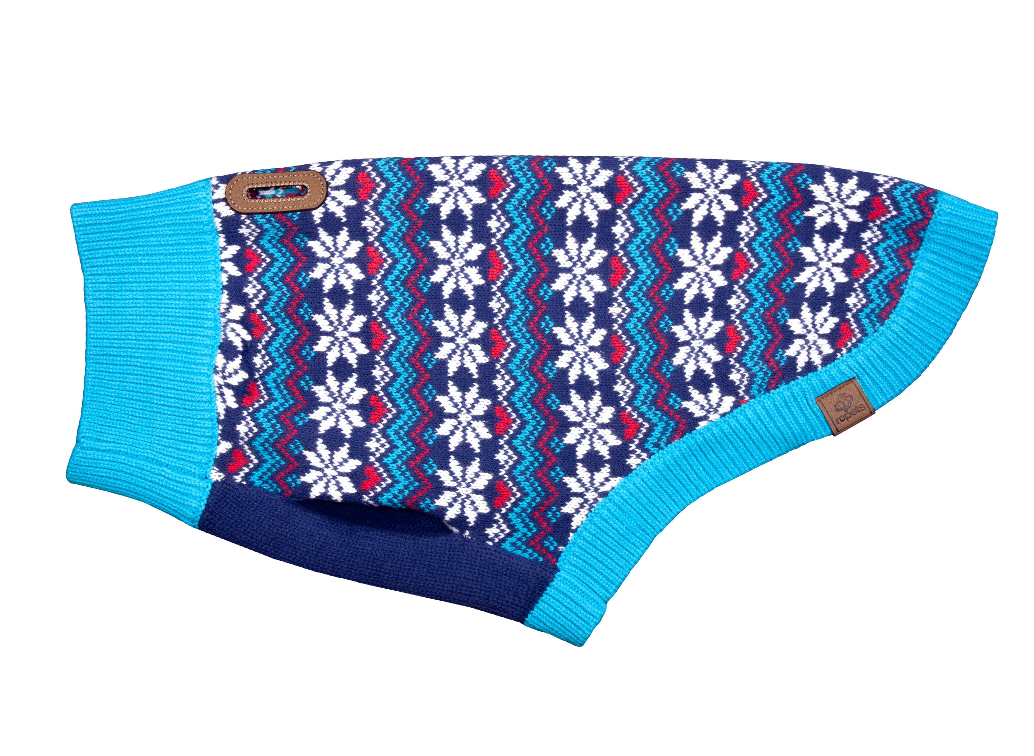 RC Pet Products Highland Dog Sweater, Classic Fair Isle, Large