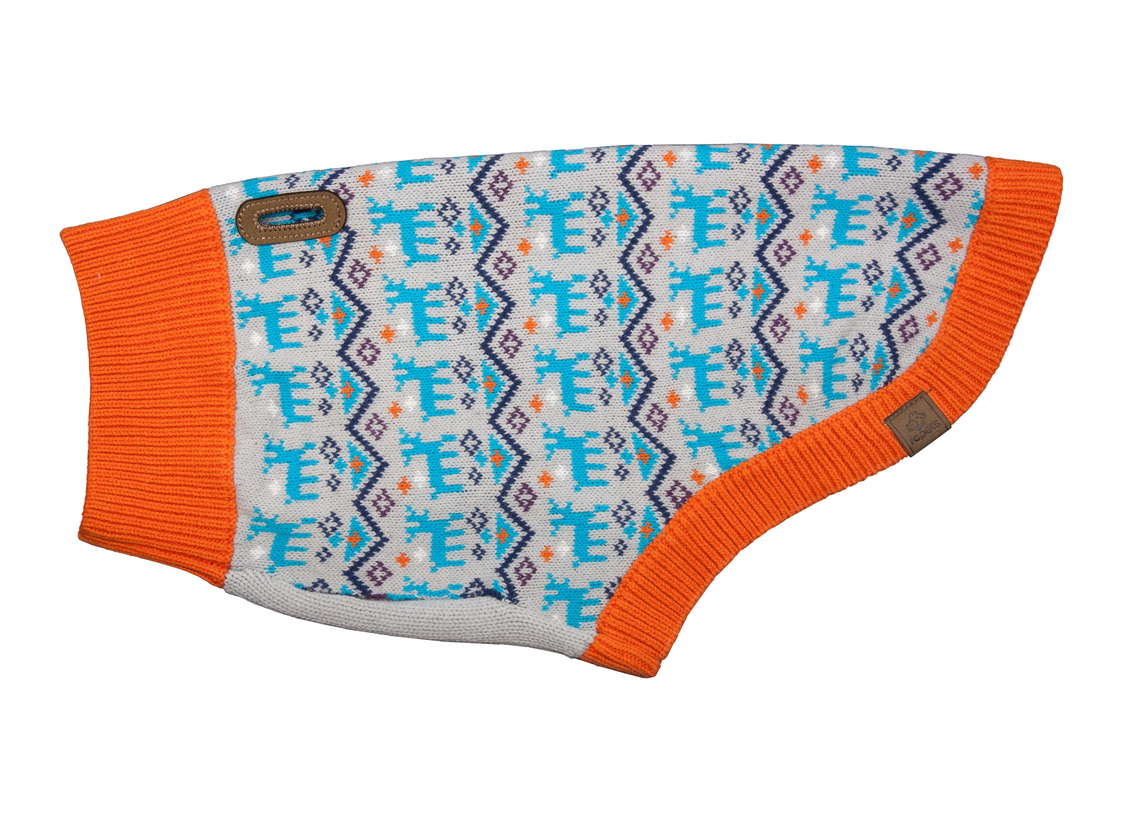 RC Pet Products Highland Dog Sweater, Oh Deer, Medium