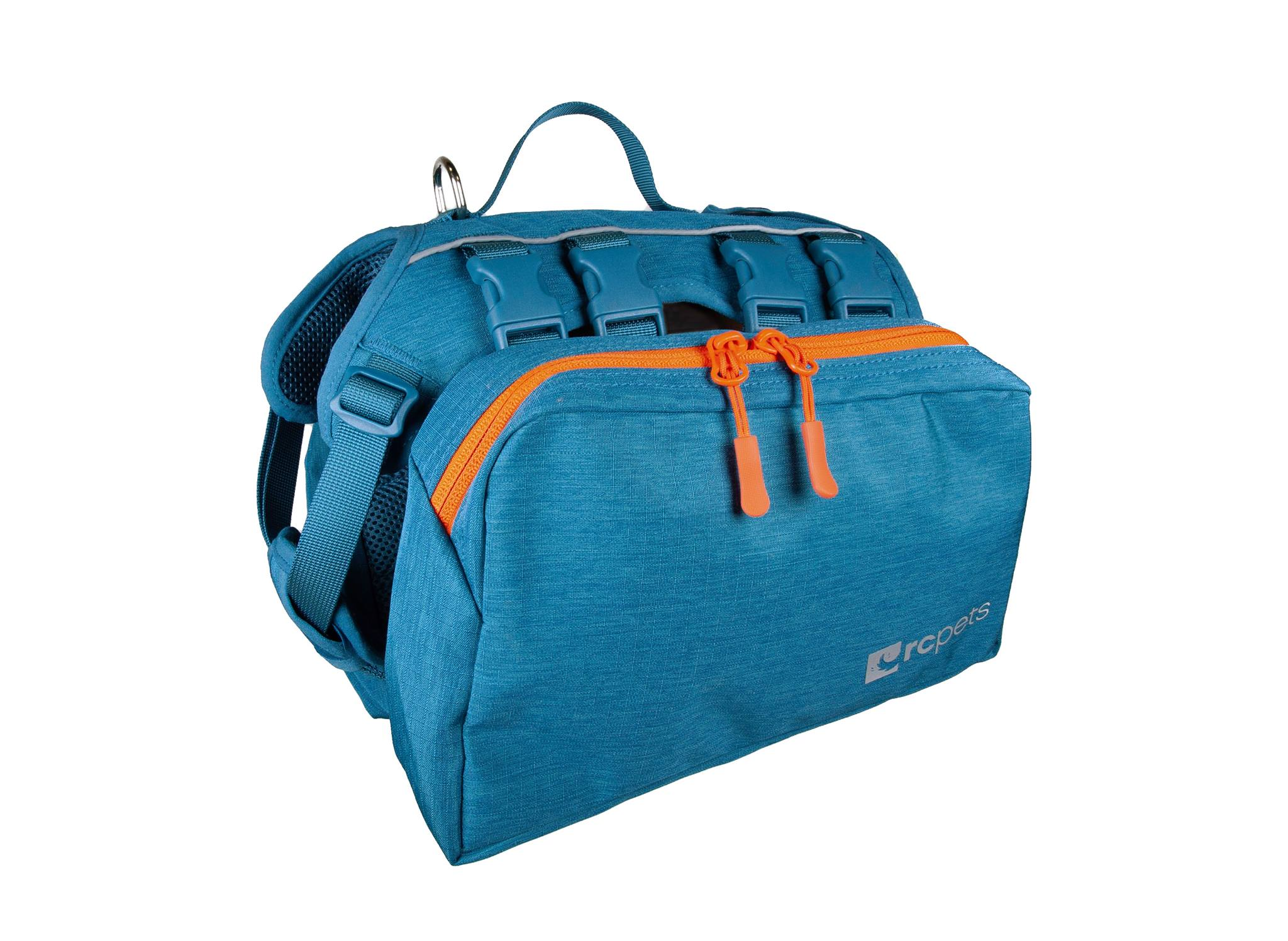 RC Pet Products Quest Day Dog Pack, Heather Teal, Medium