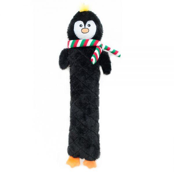 ZippyPaws Holiday Jiggler Penguin Dog Toy