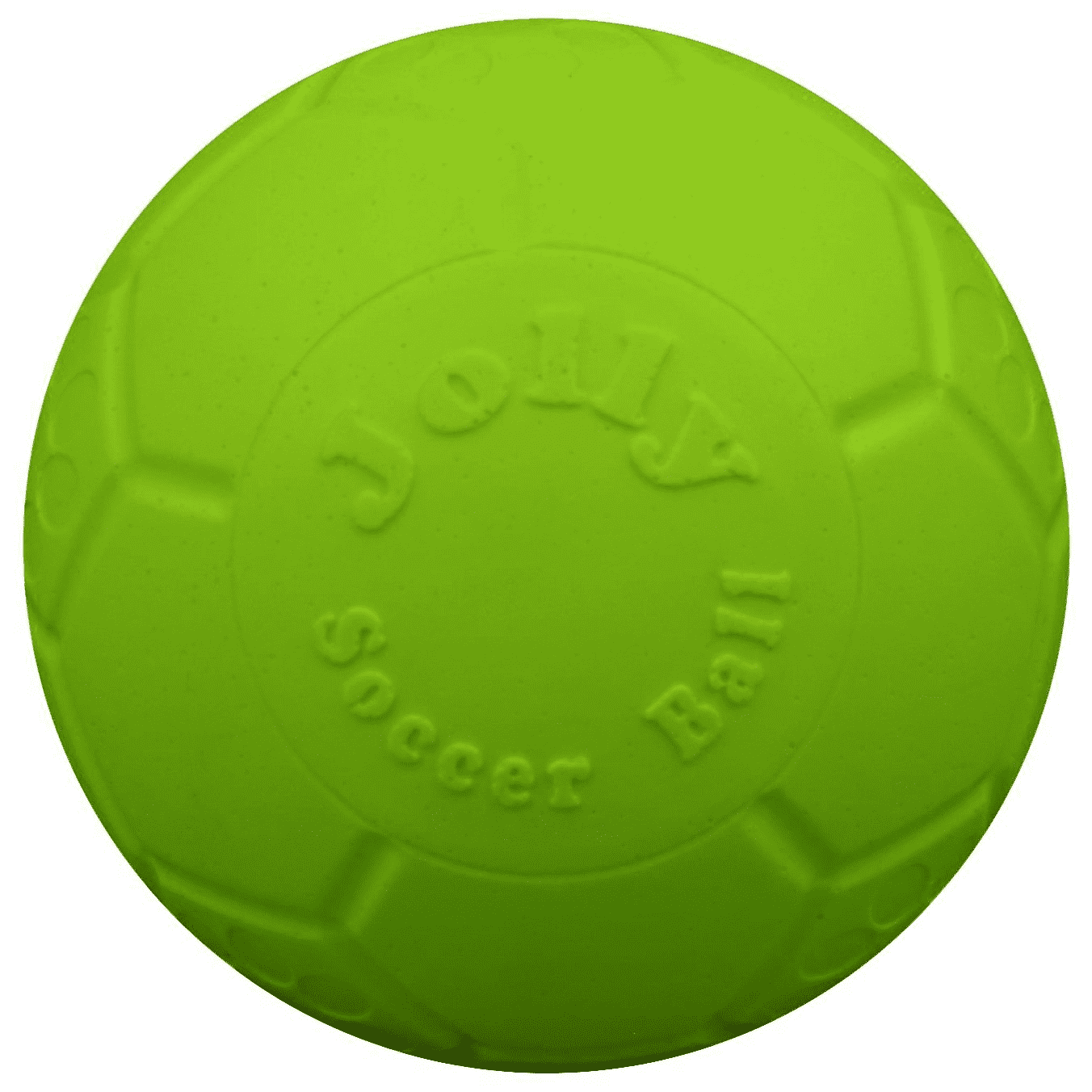 Jolly Pets Soccer Ball Dog Toy, Green Apple Image