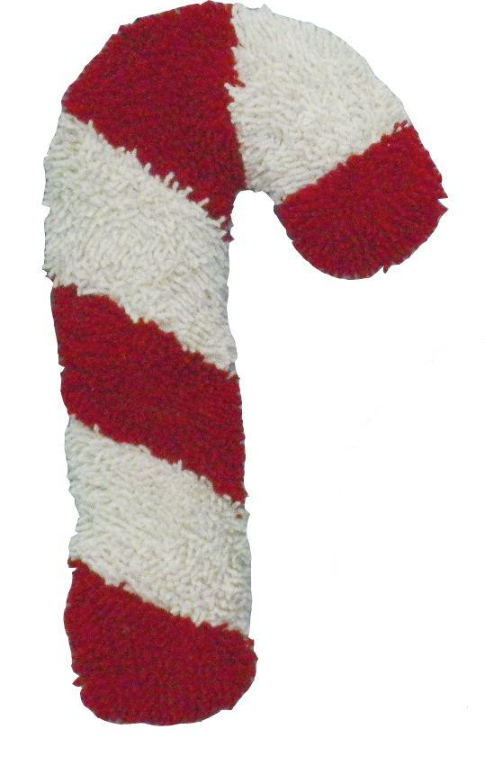 Petlou Christmas Twisted Candy Cane Dog Toy, 10-in