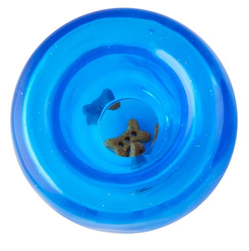 Planet Dog Orbee-Tuff Lil Snoop Dog Toy, Blue, Small