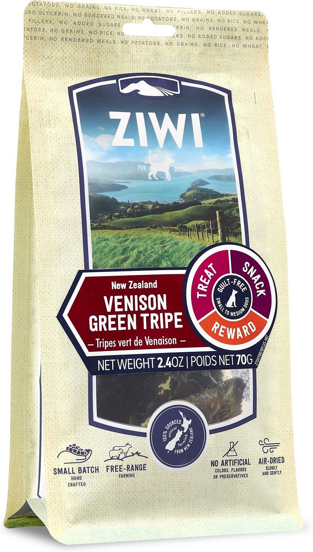 Ziwi Peak Venison Green Tripe Dog Treats, 2.4-oz