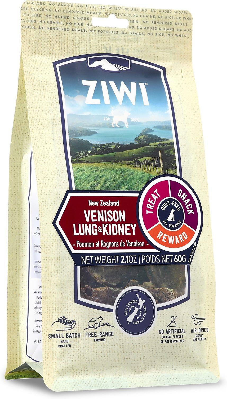 Ziwi Vension Lung & Kidney Dog Treats, 2.1-oz