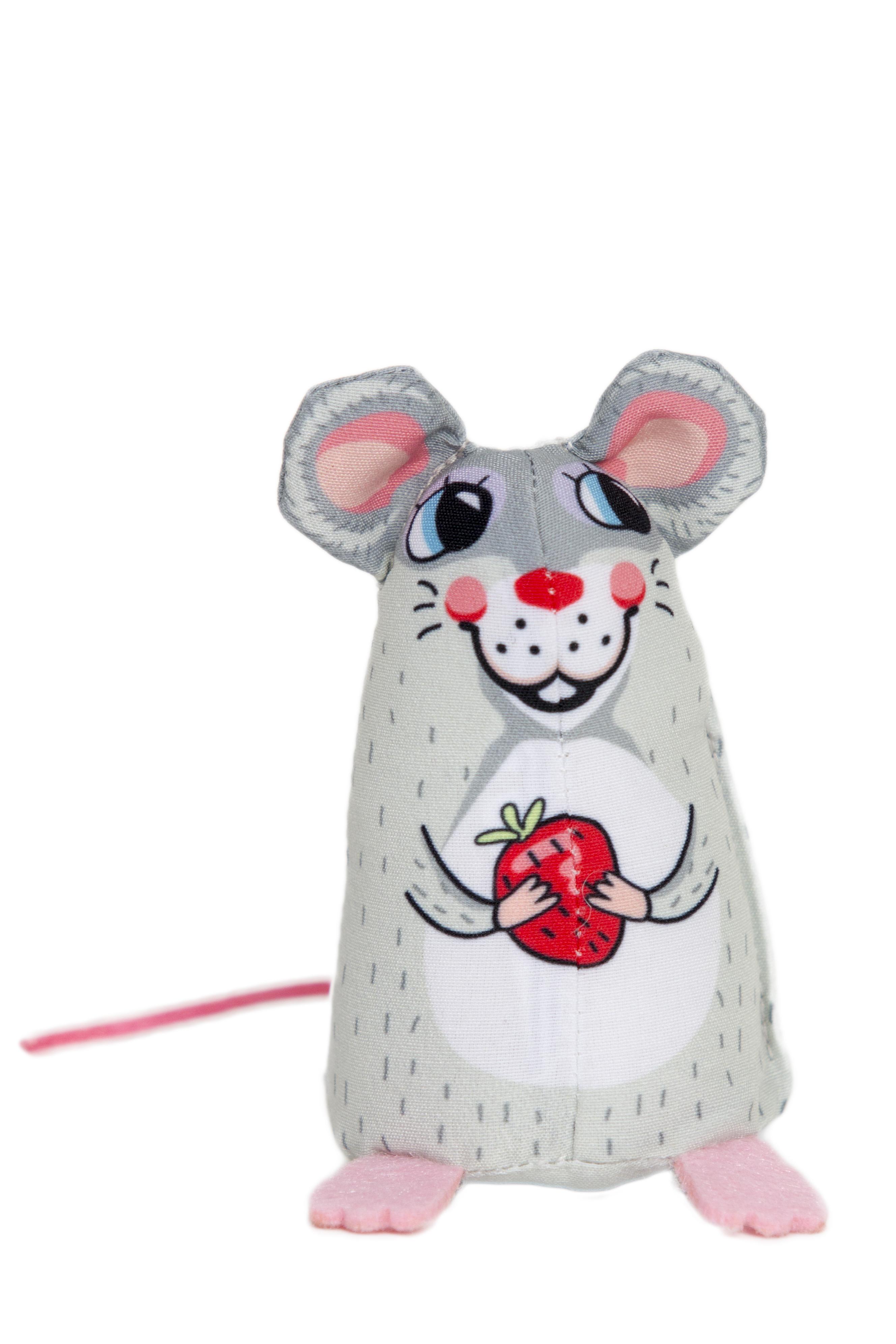 Fuzzu Sweet Baby Mice Sweetie Cat Toy