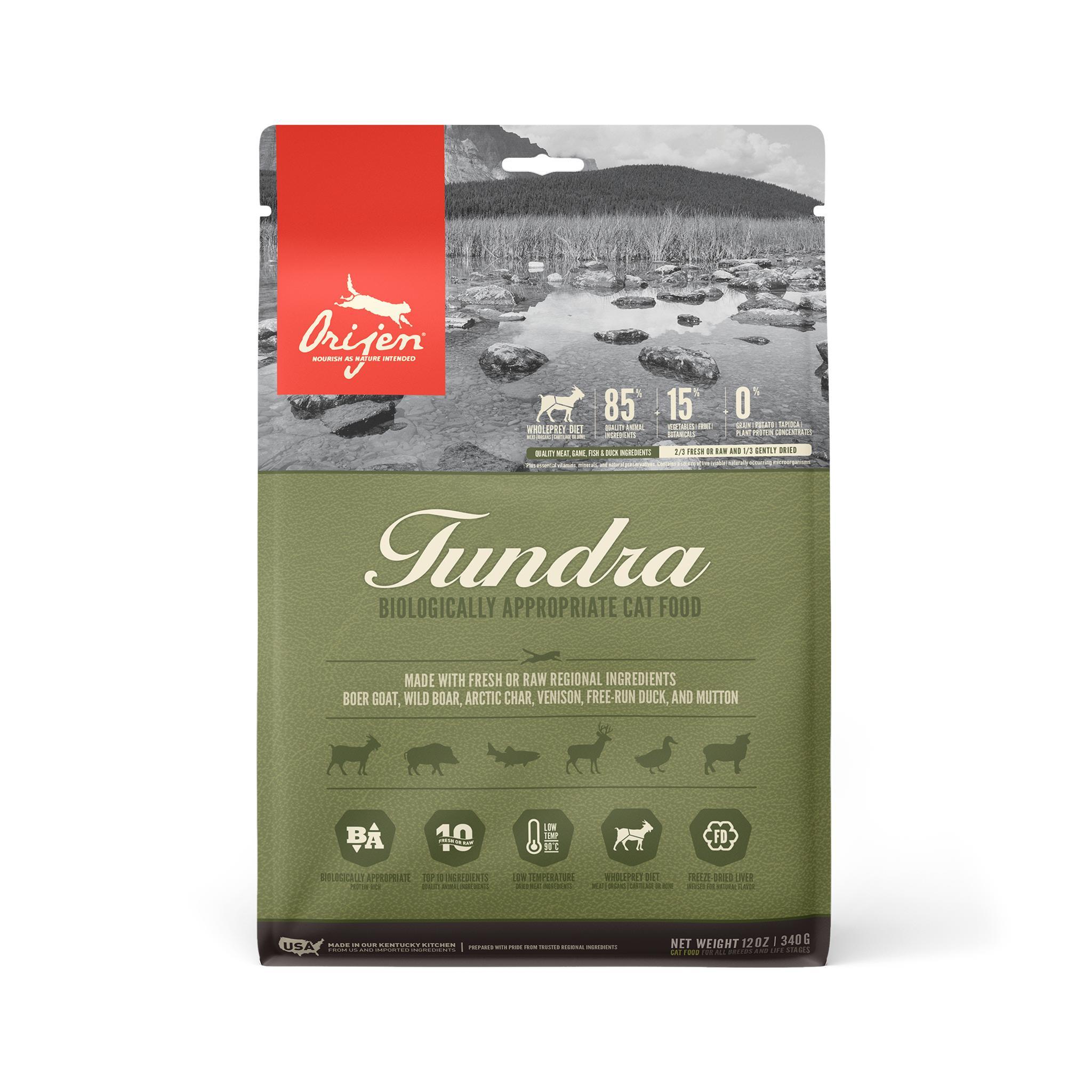 ORIJEN Tundra Grain-Free Dry Cat Food Image